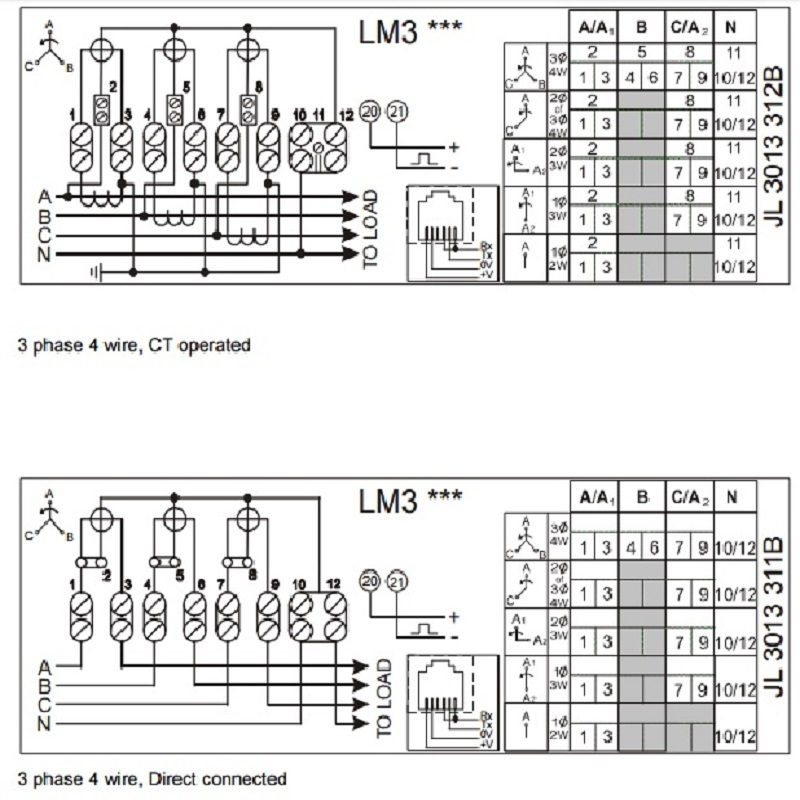 3 phase current transformer wiring diagram free download