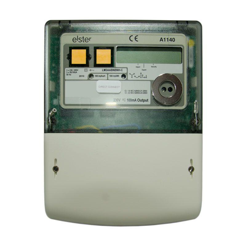 Elster a1140 mid polyphase electricity meter.