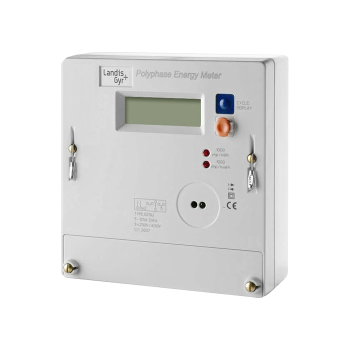 3 Phase Meter Utilyti : Landis gyr b three phase electric meter