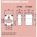 Hobut 164 Series Dimensions