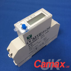 http://www.camax.co.uk/product/dds353h-1-mid-certified-100a-kwh-meter-with-pulse