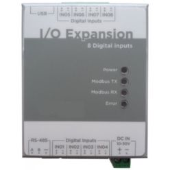 http://www.camax.co.uk/product/t-mac-i-o-expansion-module-with-8-digital-inputs-pulse-to-modbus-converter-001-1228