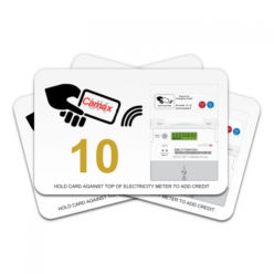 http://www.camax.co.uk/product/emlite-rfid-contactless-cards-for-mp22-pre-payment-meters