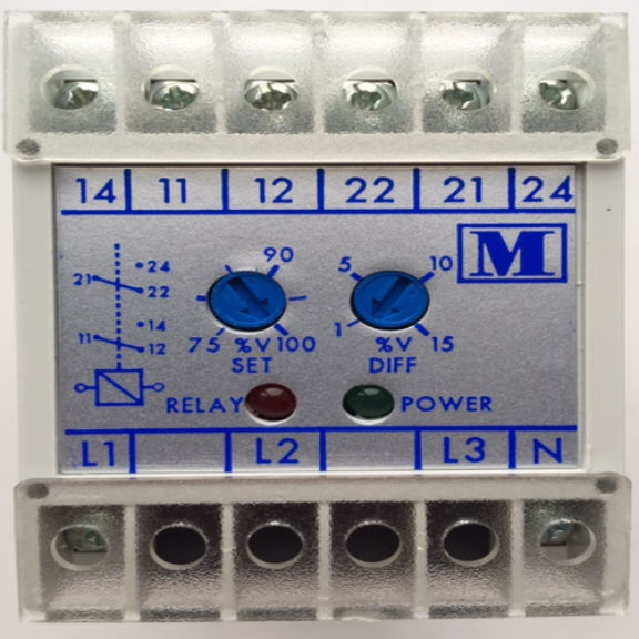 Hobut AC Voltage Protection Relay for Single or Three Phase systems