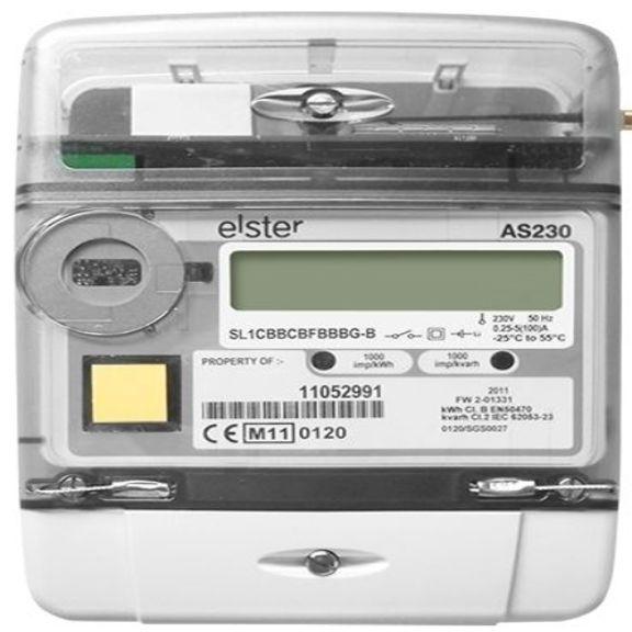 Elster single phase meters