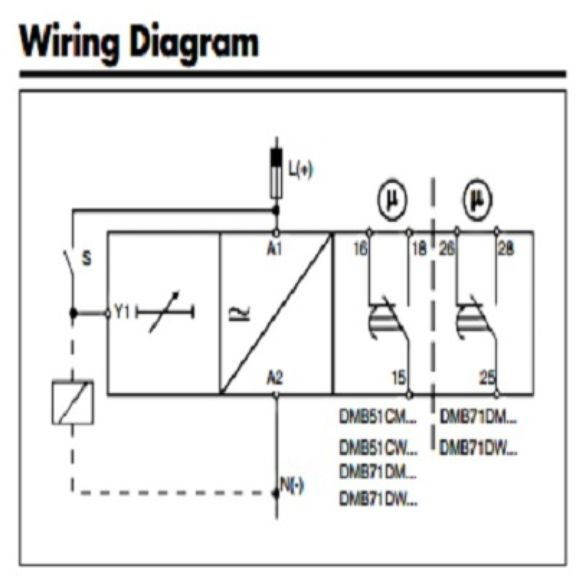 carlo gavazzi multi-function timer (dmb51cm24 ) paragon timer wiring diagram interval timer wiring diagram