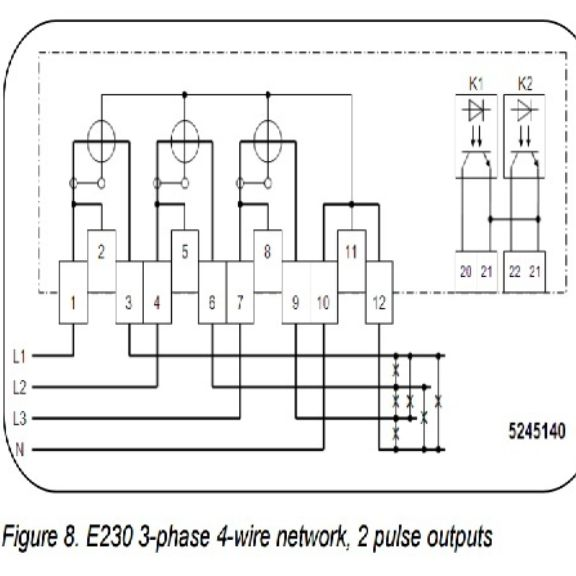 Es Wiring on split core current transformer metering