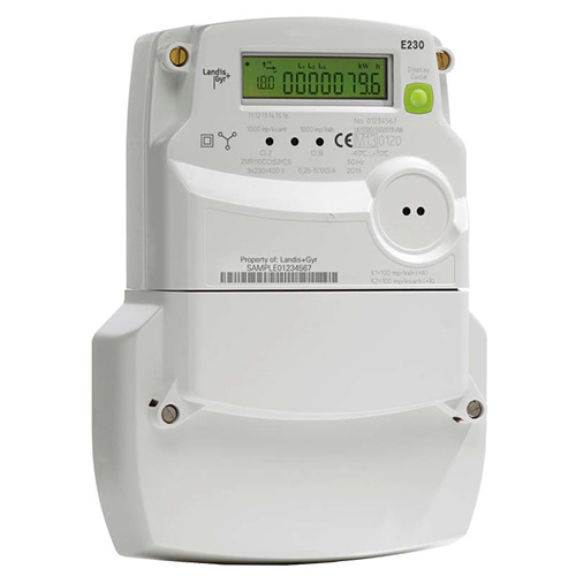 Nz Single Phase Smart Meter : Landis gyr e three phase mid multi function meter