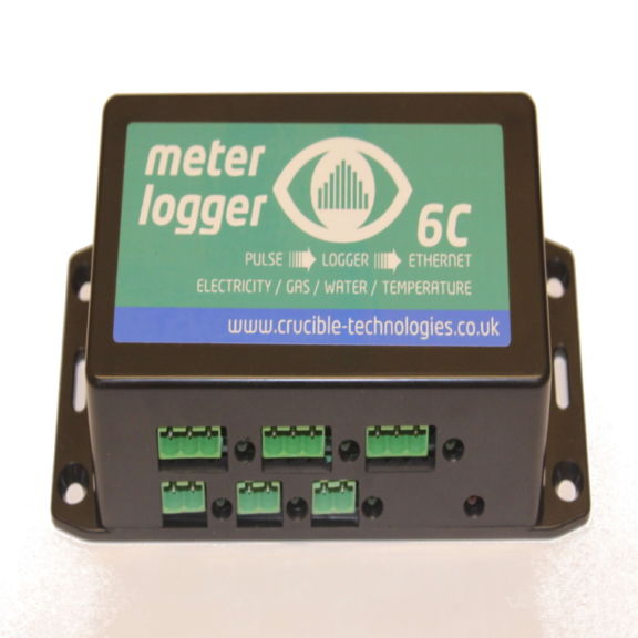Meter Logger 6C 6 Input Web Enabled Pulse Data Logger