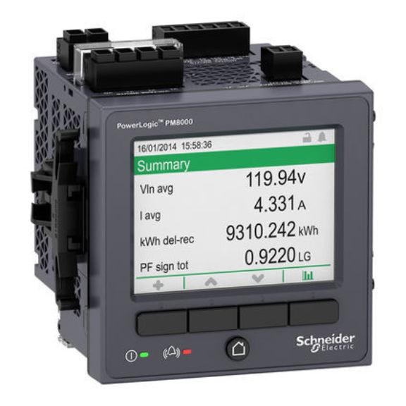 Powerlogic Energy Meter : Schneider pm energy meter series